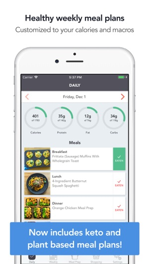 MealPrepPro Meal prep planner on the App Store - meal plans