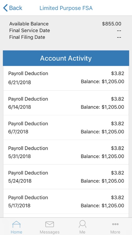 Paychex Benefit Account by Paychex, Inc