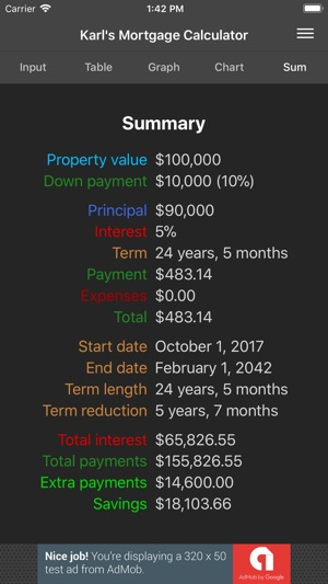 karlu0027s mortgage calculator on the app store