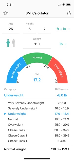 BMI Calculator \u2013 Weight Loss on the App Store