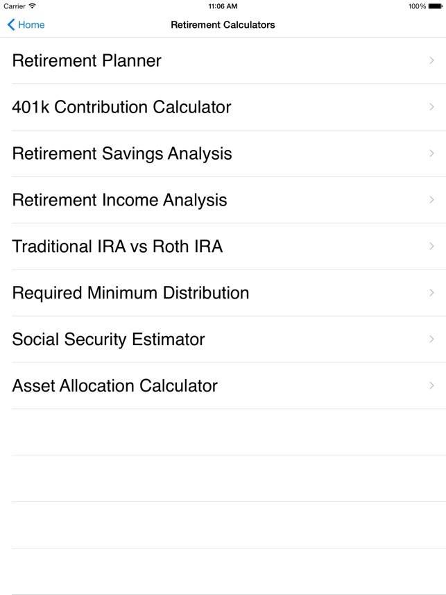 EZ Financial Calculators on the App Store