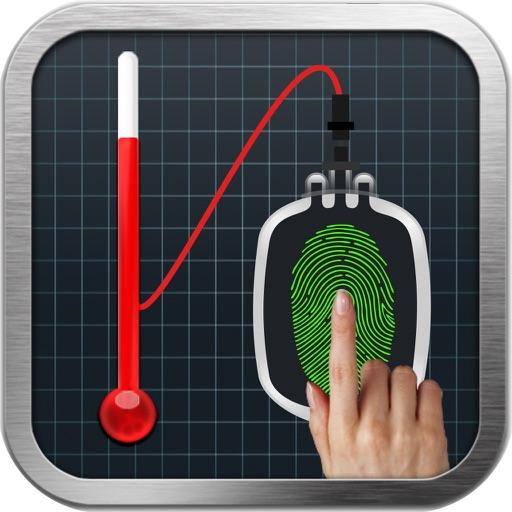 Finger Body Temperature Prank -Scan Blood Pressure App Data  Review