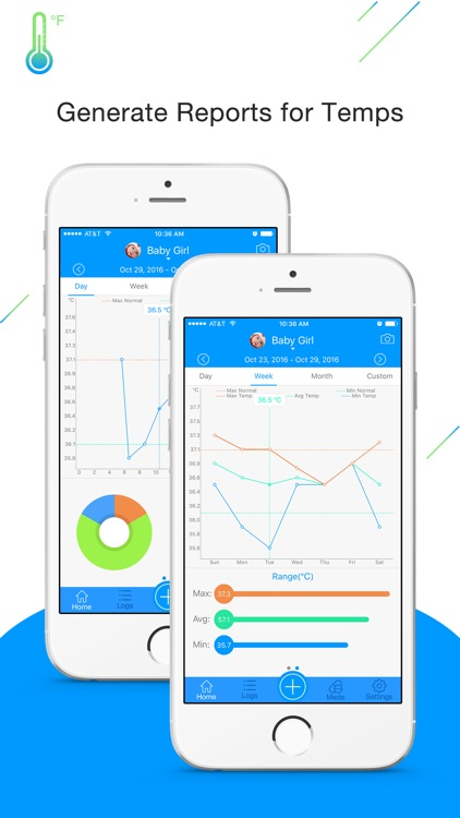 Fever Tracker Pro - Body Temperature Manager  Log by LINKLINKS LTD