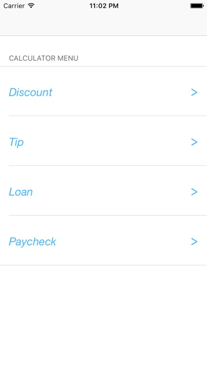 Easy Calx Discounts, Tips, Loans  Paycheck by Stephan Dowless - easy paycheck calculator