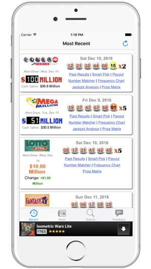 Florida Lottery Results - FL Lotto on the App Store