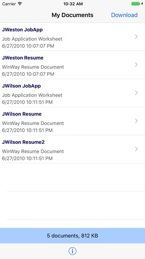 ResumeShare on the App Store - winway resume deluxe