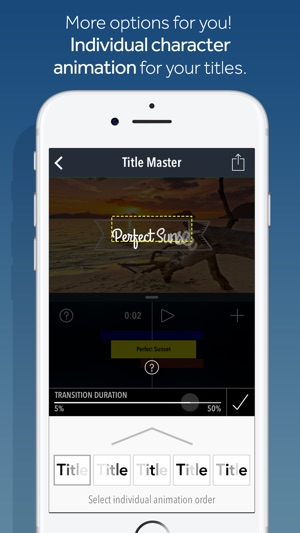 Title Master - Animated text and graphics on video on the App Store