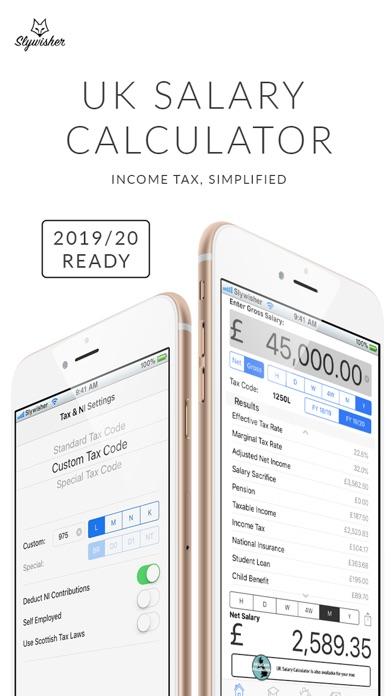 UK Salary Calculator - 2019/20 by Rhys Lewis (iOS, United States