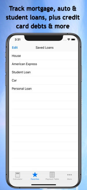 Easy Loan Payoff Calculator on the App Store