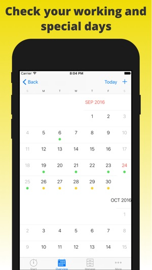atWork Timesheet, Time Tracker on the App Store