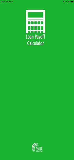 Loan Payoff Calculator on the App Store