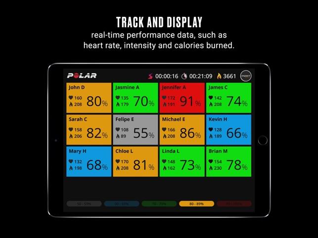 Polar Club Group fitness app on the App Store