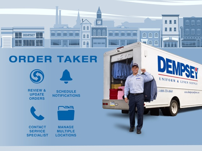 Dempsey Order Taker on the App Store