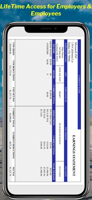 Paystub Calculator Maker Pro on the App Store