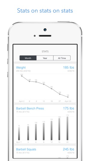 Lift - Simple Weight Lifting Log  Workout Tracker on the App Store