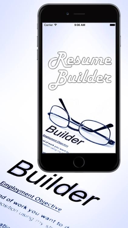 Smart Resume Builder - Professional CV Maker by  Salim Ullah - smart resume builder