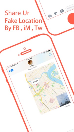 Fake location - change your locationaddress on the App Store