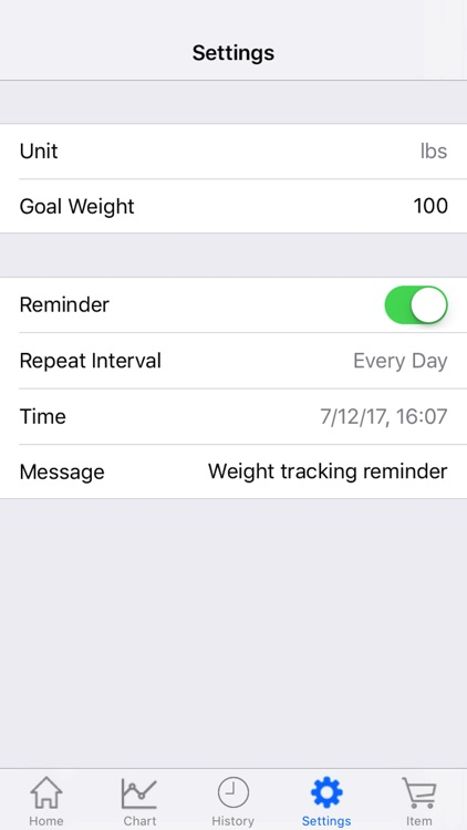Body Weight Loss Tracker With Record Chart And Log by Qi Chen