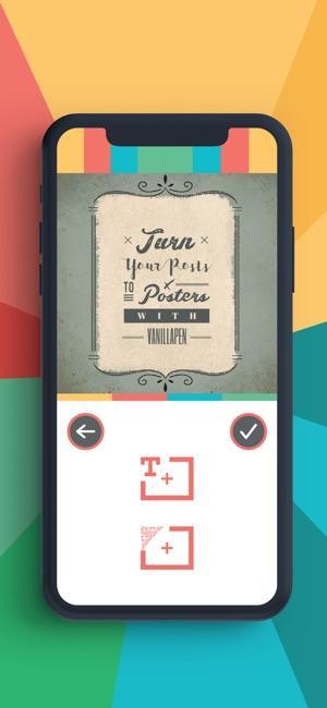 VanillaPen - Poster maker on the App Store