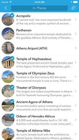 Grecia y Chipre - planificador de viajes de Tripomatic, guía de