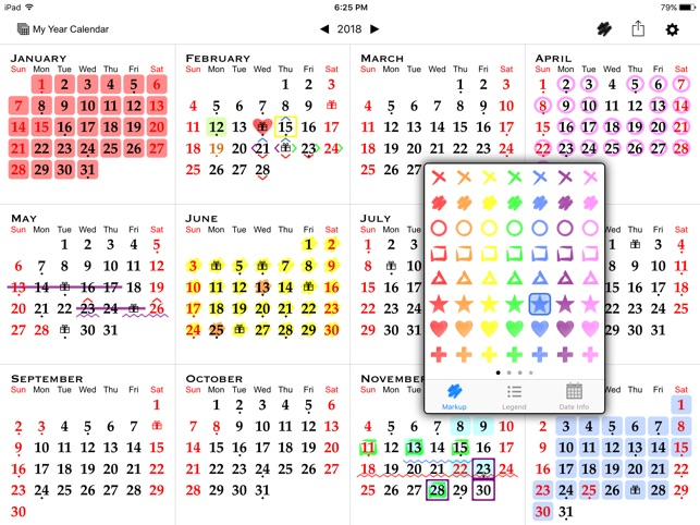 All-in-One Year Calendar on the App Store