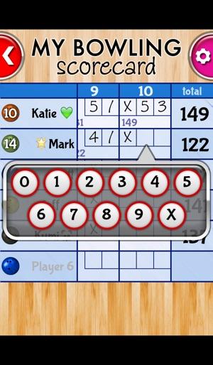 My Bowling Scorecard on the App Store