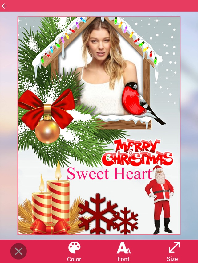Christmas Photo Frames 2016 on the App Store