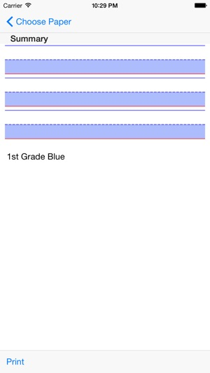 Print Lined Paper on the App Store - can you print on lined paper