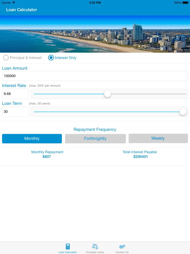 Aussie Home Loan Calculator on the App Store