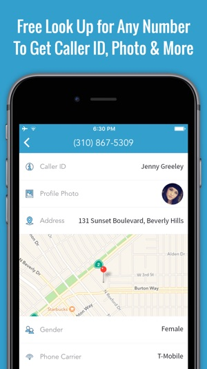Reverse Caller ID Lookup  Free Phone Book App on the App Store