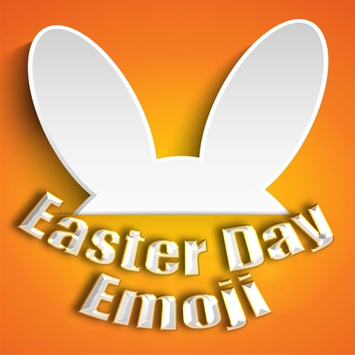 Happy Easter Emojis - Holiday Emoticon Sticker for Message