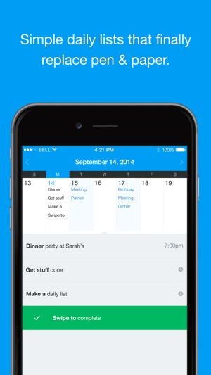 QuickNote Calendar - Easy Daily Todo List Task Manager (Free Version