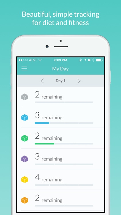 Daily Fitness Tracker by FatChicken Studios - diet and fitness tracker
