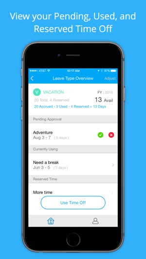 Time Off on the App Store - vacation tracker app