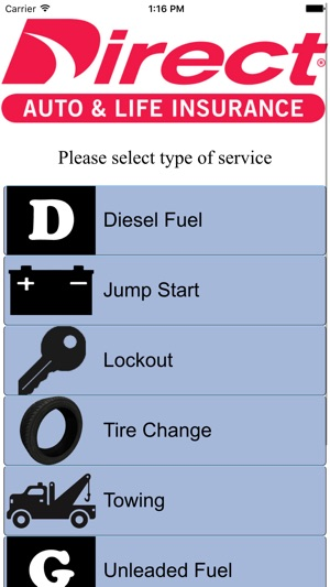 Direct General Roadside Assistance on the App Store