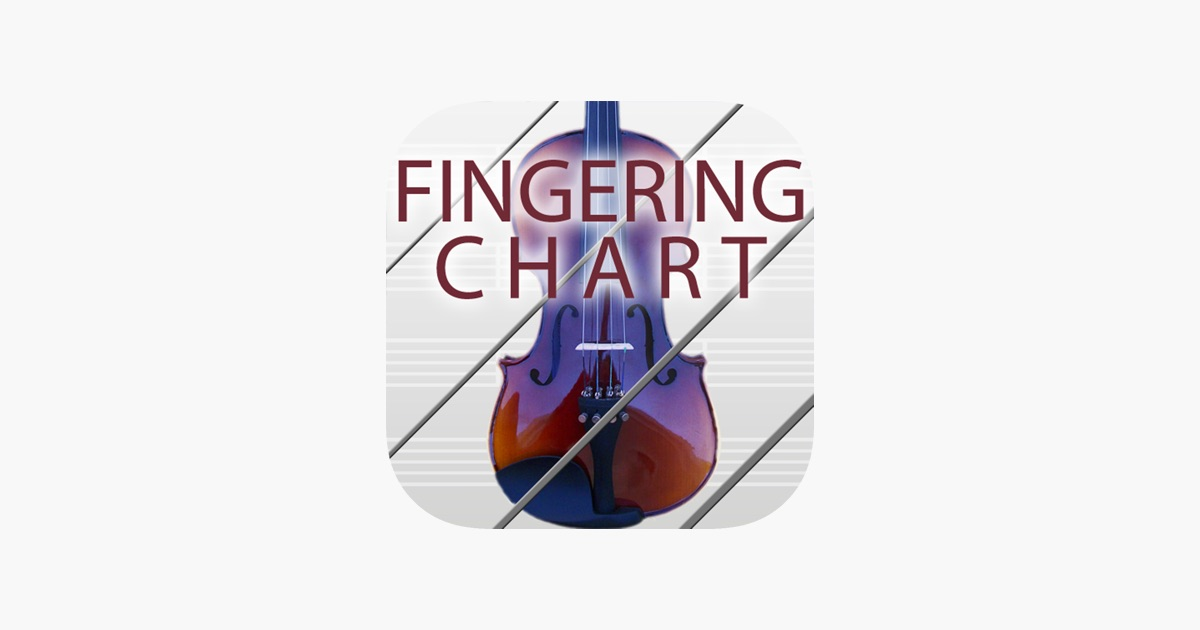 Violin/Fiddle Fingering Chart on the App Store
