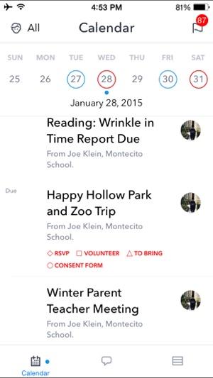 Sangha For Parents on the App Store - school calendar creator