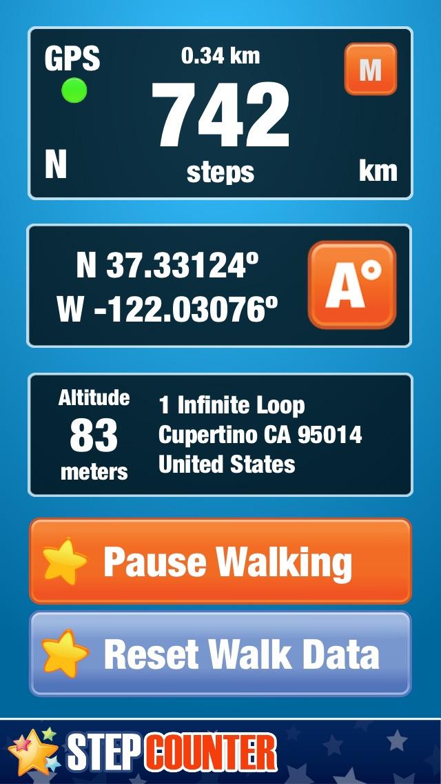 Step Counter and Walking Tracker by YULIYA SHNITKO (iOS, United