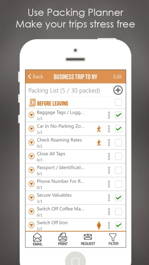 Packing Checklist Planner List on the App Store - Travel Checklist