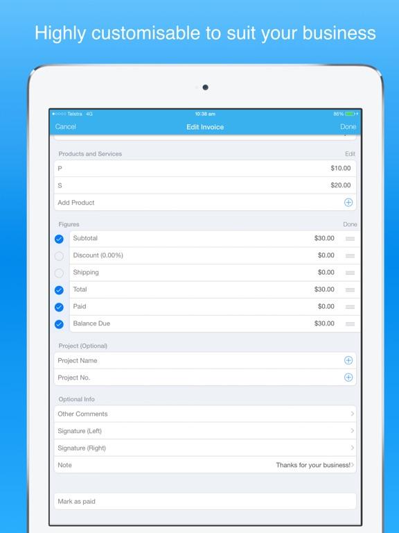 invoice maker pro - Create invoices on the go free App Price Drops