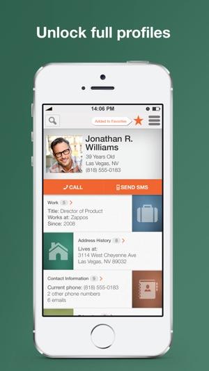 Intelius Reverse Phone Lookup on the App Store - address phone number lookup