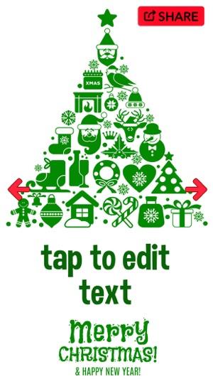 Christmas Card Maker \u2013 Xmas Greeting Cards on the App Store