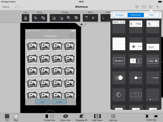 AppCooker Prototyping  Mockup on the App Store