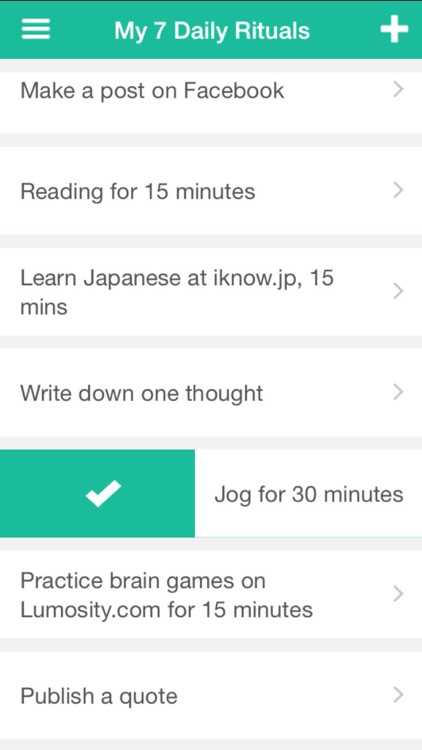 Being Beethoven-simple habits, daily goals tracker by Zero to One