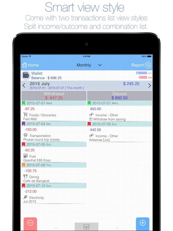Evo Wallet - Money Tracker App Price Drops