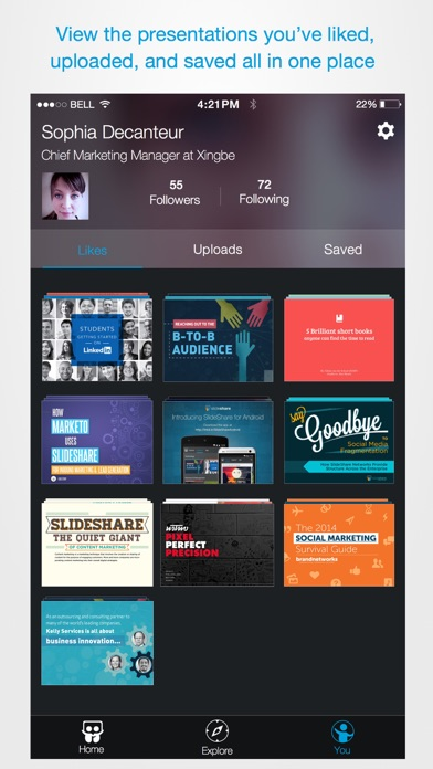 LinkedIn SlideShare - Revenue  Download estimates - Apple App Store