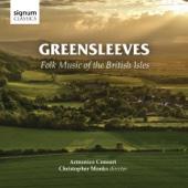 Armonico Consort & Christopher Monks - Greensleeves: Folk Music of the British Isles  artwork