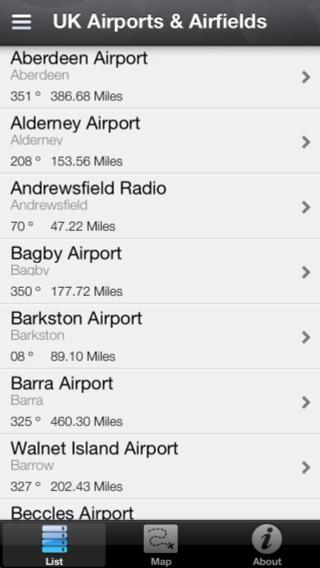 UK Airports & Airfields Screenshot