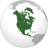 Tamer Arafat - North America Flags アートワーク