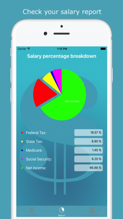 USA Income Tax Calculator by Sergey Klimusha - Income Tax Calculator